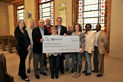 Mississippi housing repair organization Delta Grace received $8,000 in Partnership Grant Program funds from Planters Bank & Trust and FHLB Dallas, which will be used to replace roofs on several area homes. (Photo: Business Wire)