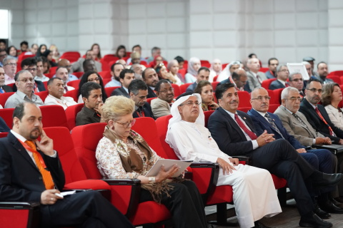 ICEWES 2018 opening ceremony audience at the American University of Ras Al Khaimah (Photo: AETOSWire ...
