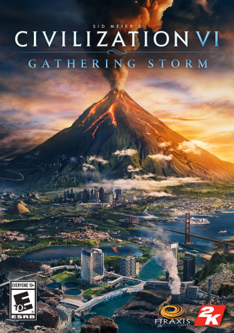 2K and Firaxis Games announced today that Sid Meier's Civilization® VI: Gathering Storm, the second expansion pack for the critically acclaimed and award-winning Sid Meier's Civilization® VI, will be available for Windows PC on February 14, 2019. (Graphic: Business Wire)