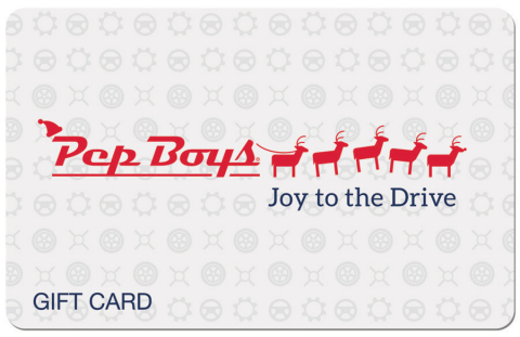 Pep Boys has launched The Amazing Shrinking Gift Kit holiday campaign, to remind gift givers of the importance of vehicle preparedness and the appeal of practical gifts. Auto repairs can take away from the Joy to the Drive – the idea that with a well-prepared ride, there's pleasure in the journey. (Photo: Business Wire)