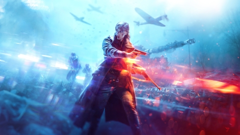 Battlefield V, the highly anticipated new game in this award-winning franchise, releases today from DICE, an Electronic Arts Inc. studio. (Graphic: Business Wire)