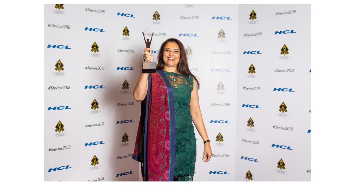 Global Upside's Co-Founder Gita Bhargava Wins Silver Lifetime Achievement  Stevie® Award   Business Wire