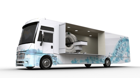 NeuroLogica and Winnebago will display a mobile lung screening clinic (above) at the 2018 Radiologic ...