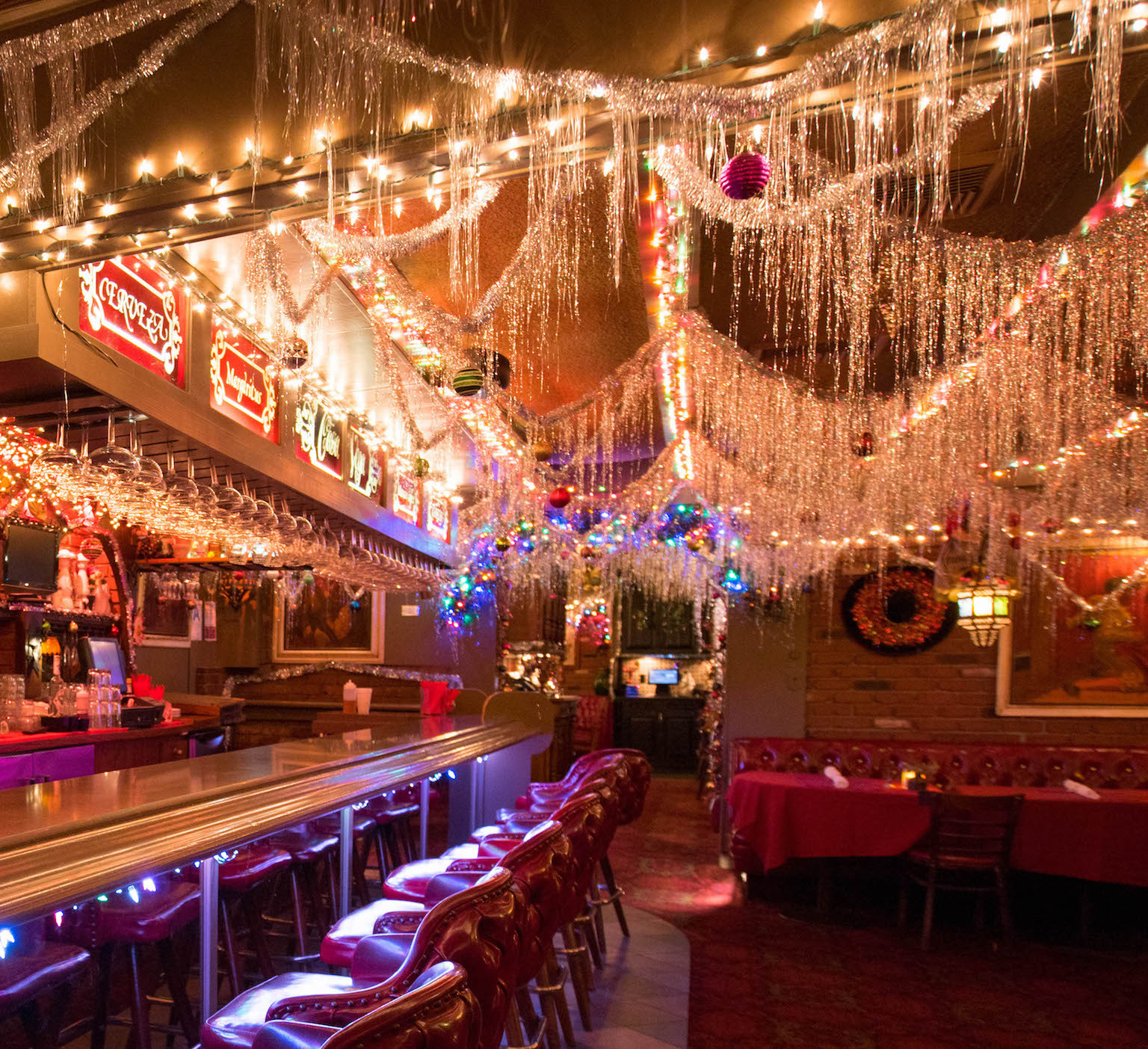 "Casa Vega ""Decks the Halls"" with Over The Top Decorations"