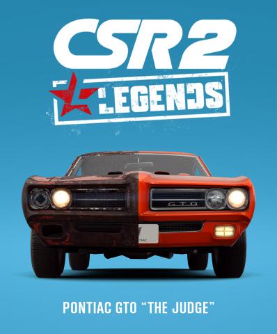 CSR 2: Legends (Graphic: Business Wire)