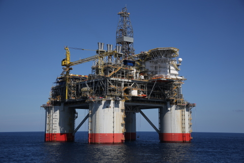 The Chevron-operated Big Foot project uses a 15-slot drilling and production tension-leg platform, t ...