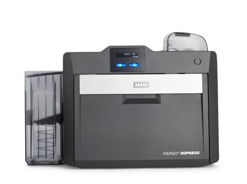 HID® FARGO® HDP6600, the world's fastest retransfer printer. (Photo: Business Wire)
