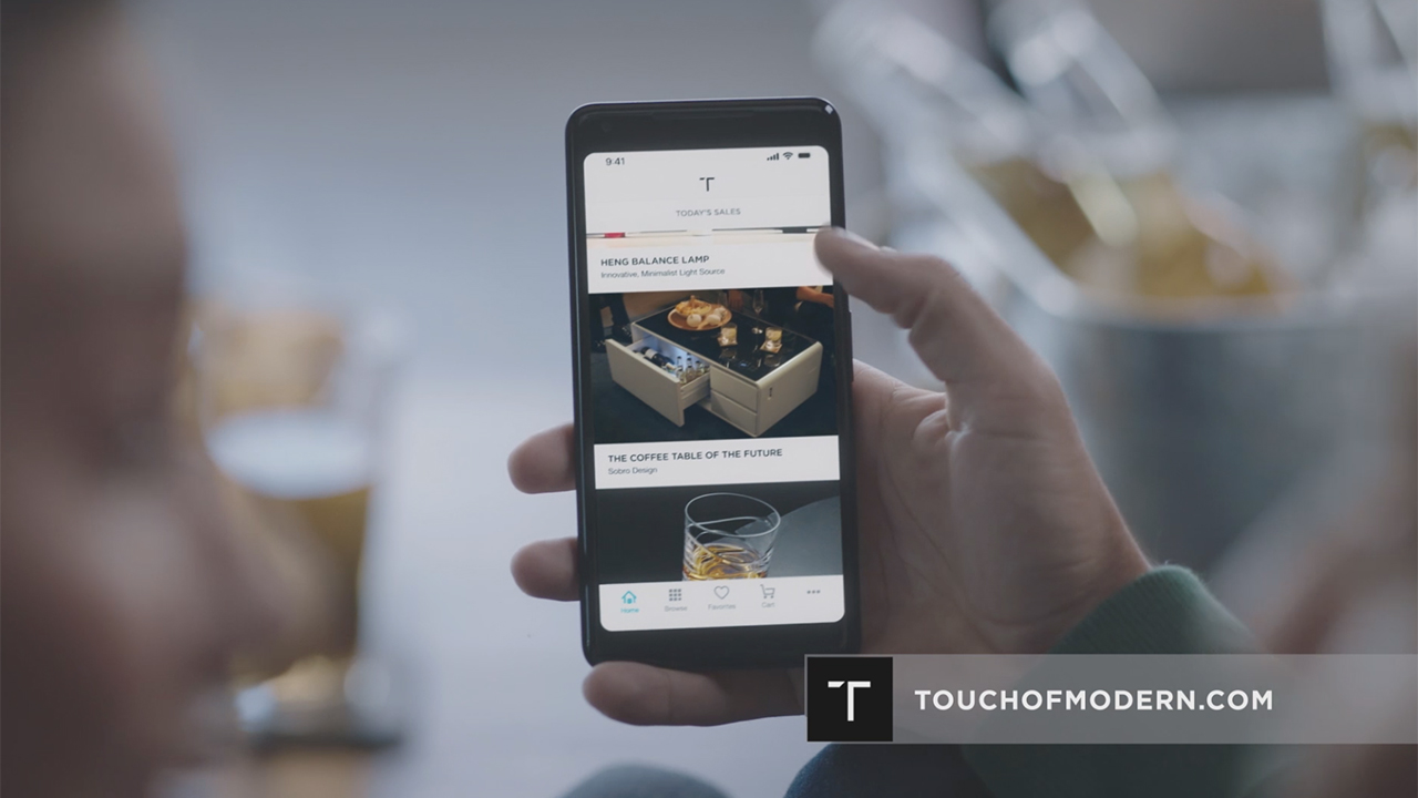 Watch the latest TV commercial for Touch of Modern created by Marketing Architects. (Video: Business Wire)