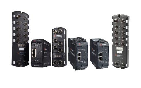 Comtrol's IO-Link Master Family of Products (Photo: Comtrol Corporation)