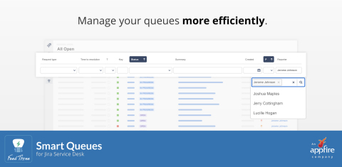 Appfire Launches Feed Three, a New Atlassian Apps Brand with a Bold Mission —and Its First Product, Smart Queues for Jira Service Desk (Graphic: Business Wire)