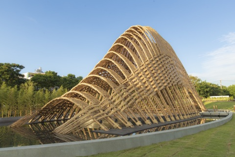 Explore Bamboo Pavilion at Taichung World Flora Expo. (Photo: Business Wire)