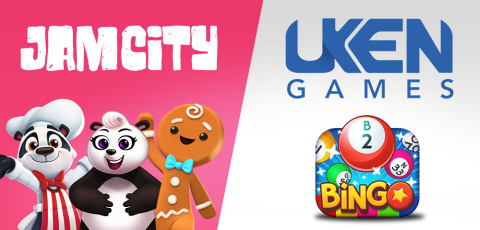 Jam City Expands Global Operations to Toronto, Canada, with the Acquisition of Bingo Pop from Uken Games (Graphic: Business Wire)