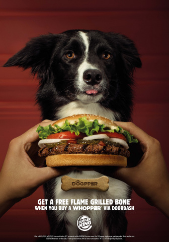 Burger King® Introduces the First Dog Bone Featuring Its Iconic Flame-Grilled Taste (Photo: Business Wire)