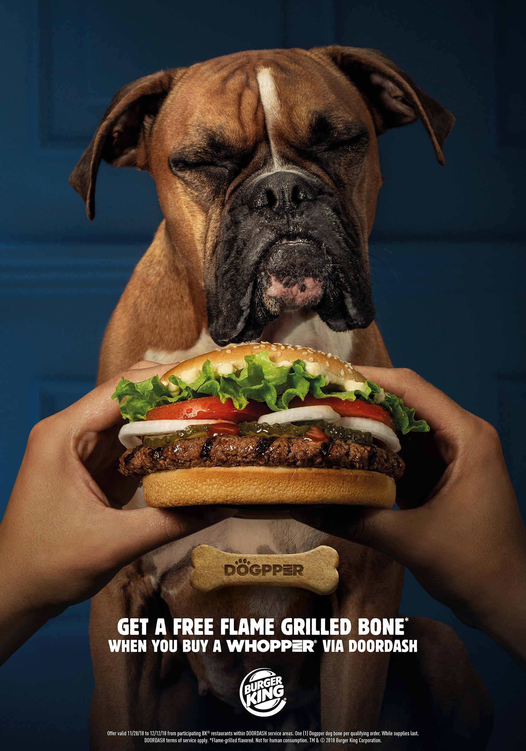 BURGER KING® Introduces the First Dog Bone Featuring Its