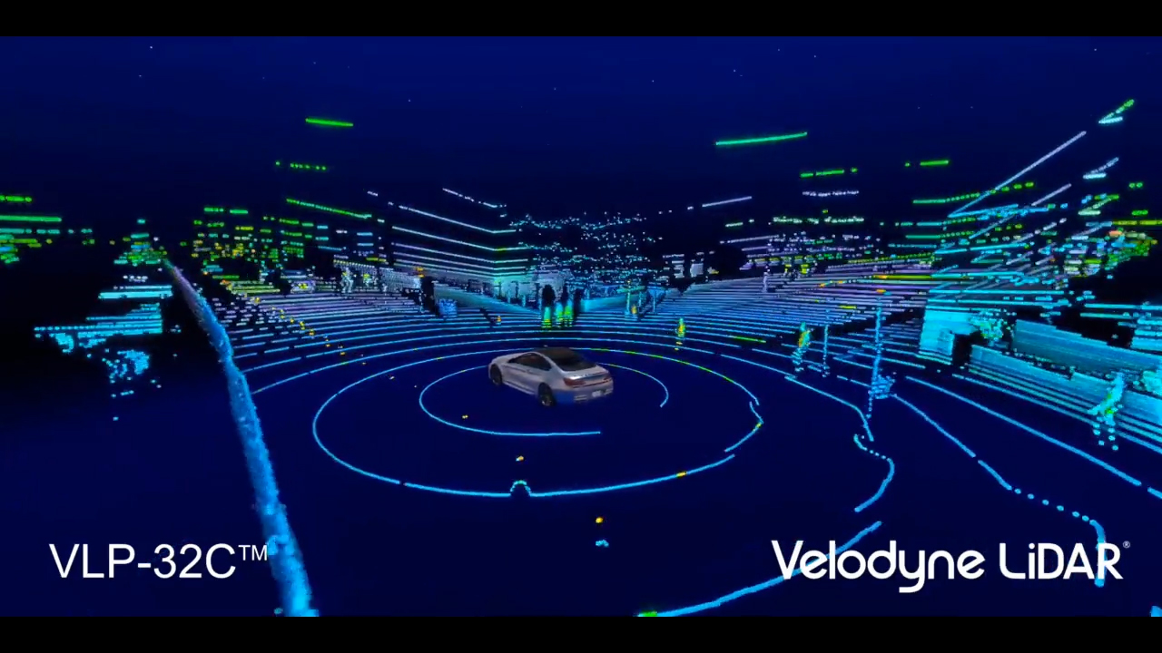 Point Cloud from Velodyne ULTRA Puck™ VLP-32C.