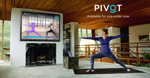 PIVOT Yoga, World's Smartest Yoga Wear & Instructional Content, Puts a Private Yoga Studio in Your Home. (Graphic: Business Wire)