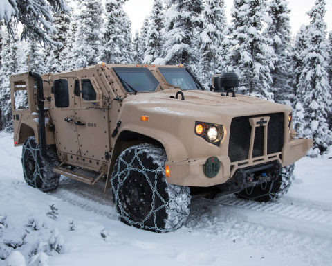 Enhanced protection and extreme mobility both off-road and in dense urban terrain. (Photo: Business Wire)