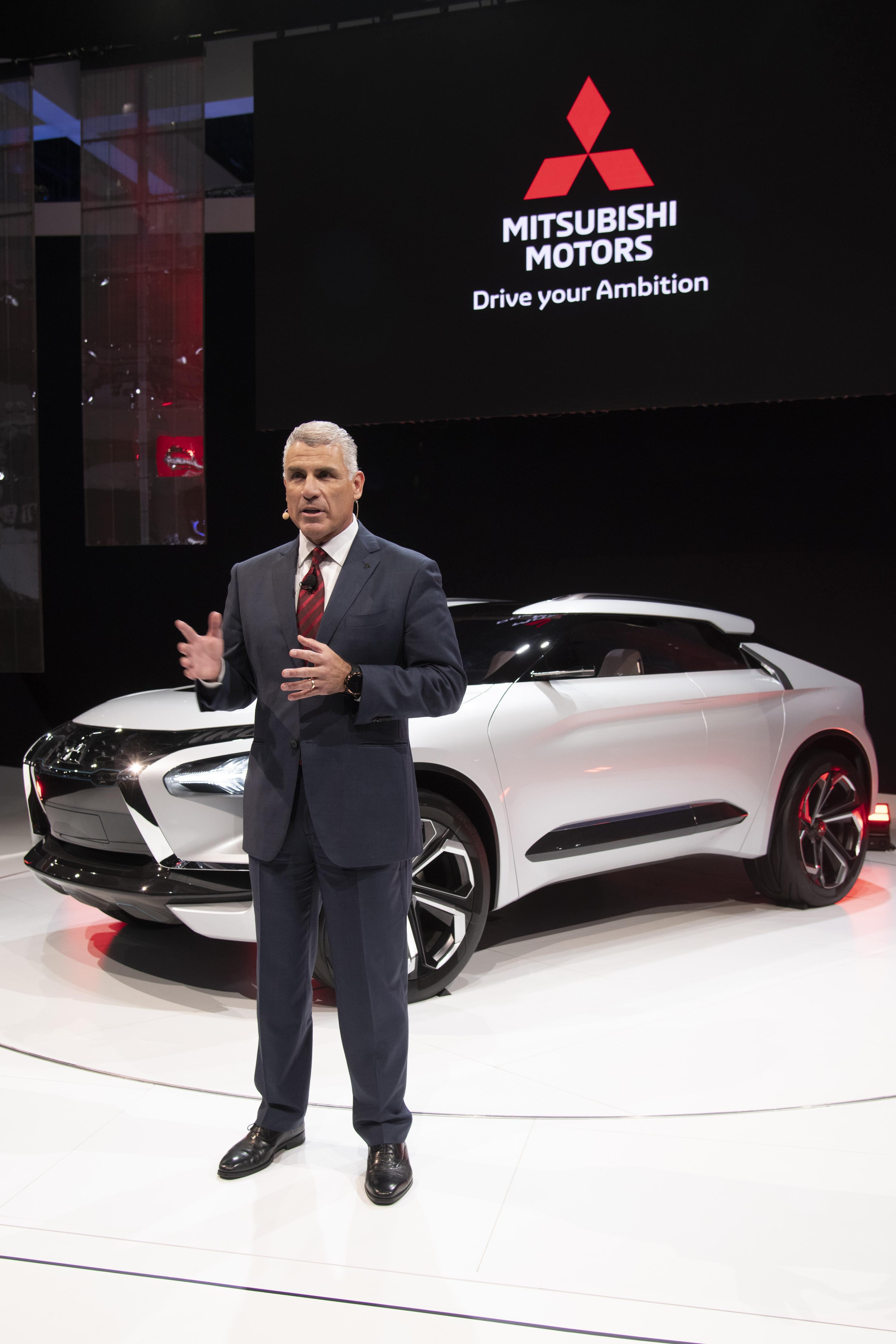 Mitsubishi Motors Signals Its Bold Future With E Evolution Concept