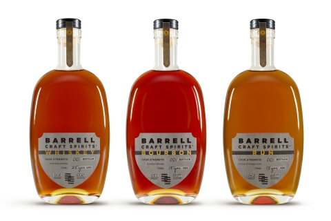 Barrell Craft Spirits of Louisville, KY is pleased to announce the introduction of its Barrell Craft Spirits line. (Photo: Business Wire)