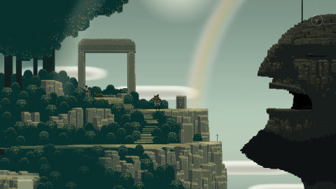 The Superbrothers: Sword & Sworcery EP game is available on Nov. 30. (Photo: Business Wire)