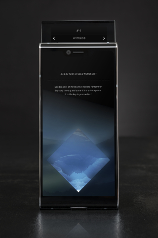 SIRIN LABS unveils FINNEY™:the world's first blockchain smartphone (Photo: SIRIN LABS)