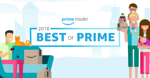 Amazon's Best of Prime 2018 celebrates how Prime members around the world enjoyed their benefits throughout the last year. (Graphic: Business Wire)