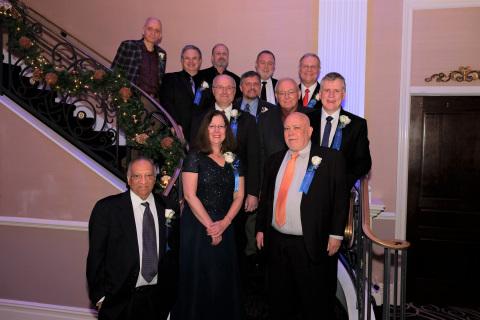 Top row, from left: Bernard Metzler, John DAmbrosia (on behalf of Ethernet Alliance and IEEE 802.3 W ...