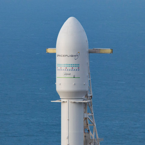 Spaceflight Successfully Launches 64 Satellites on First Dedicated Rideshare Mission (Photo: Jack Be ...