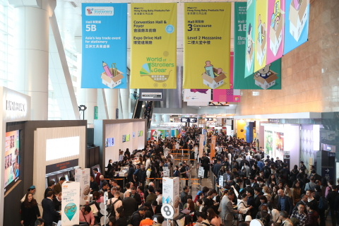 HKTDC Hong Kong Toys & Games Fair and Hong Kong Baby Products Fair Open in January 2019 (Photo: Busi ...