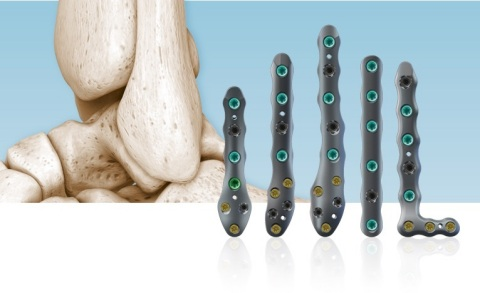 The newly commercialized and ultra-thin CoLink Afx plate system from In2Bones Global provides additional protection against soft tissue irritation that can occur with traditional trauma hardware. (Photo: Business Wire)