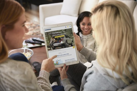 Over 55,000 vehicles available to view on carmax.com (Photo: Business Wire)