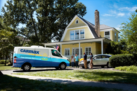 CarMax home delivery (Photo: Business Wire)