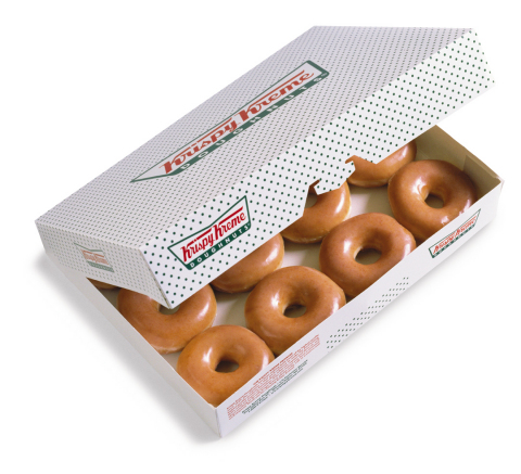 On 12/12 only, fans can purchase one dozen of the iconic Original Glazed® doughnuts for just $1 with the purchase of any dozen at participating shops across the United States. (Photo: Business Wire)