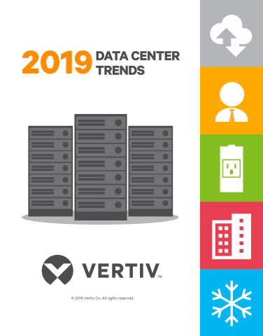 Image: 2019 Data Center Trends from Vertiv (Graphic: Business Wire)