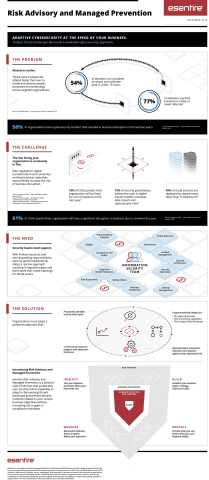 Risk Advisory and Managed Prevention Infographic (Graphic: Business Wire)