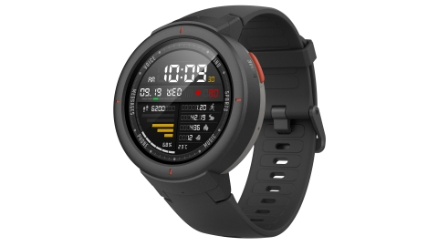 The Amazfit Verge smartwatch combines voice controlled Artificial Intelligence (AI) and the ability to make phone calls in an ultramodern, sophisticated design. (Photo: Business Wire)