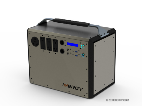 Transphorm's GaN enables Inergy to create a more powerful, lighter, and water-resistant portable solar generator: the Kodiak Extreme.  (Photo: Business Wire)