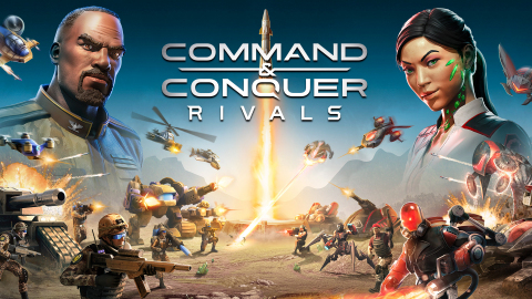 Electronic Arts officially launched Command & Conquer: Rivals, a fast-paced, real-time strategy (RTS) action game for Android and iOS devices worldwide. (Graphic: Business Wire)
