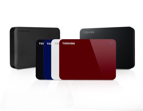 Toshiba 4TB CANVIO® Portable Hard Drive (Photo: Business Wire)