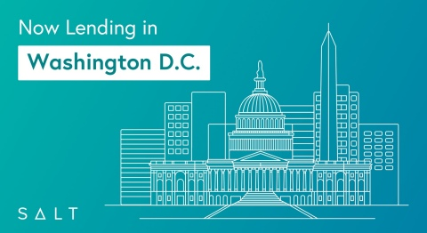 SALT is now lending in Washington, D.C. (Graphic: Business Wire)