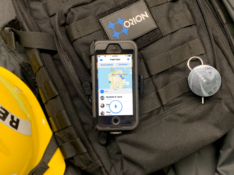 Orion Labs' push-to-talk application is now FirstNet Certified™ (Photo: Business Wire)