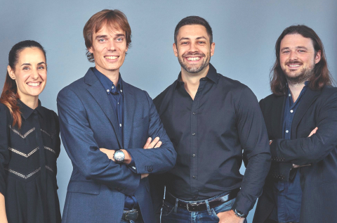 Executive team Neo: Nuria Molet, Laurent Descout, Emmanuel Anton and Ian Yates (Photo: NEO)