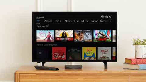 X1 Customers Will Be Able to Search and Navigate All the Prime Originals Via Xfinity On Demand and Watch Them in the Prime Video App (Photo: Business Wire)