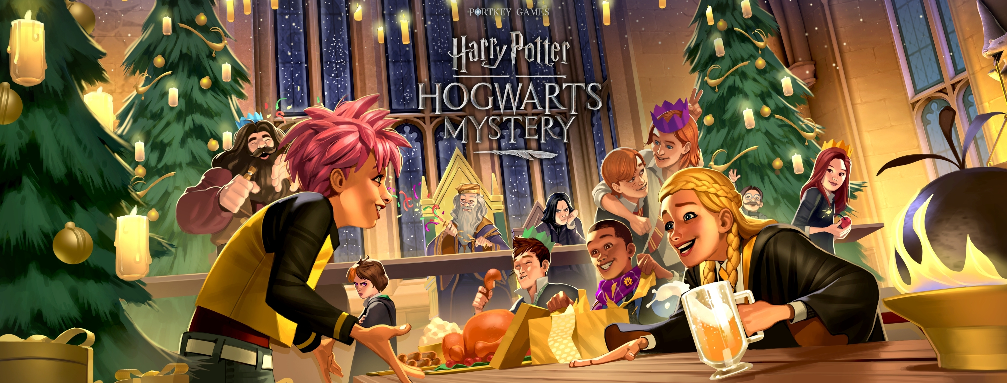 Harry Potter Hogwarts Mystery Invites Players To Deck The Halls For Christmas In The Wizarding World Business Wire