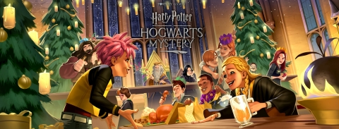 Harry Potter: Hogwarts Mystery Invites Players to Deck the Halls for Christmas in the Wizarding World (Graphic: Business Wire)