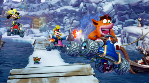 Get ready to crash the competition in Crash™ Team Racing Nitro-Fueled, an authentic Crash Team Racing experience that's been remastered in stunning HD. Launching on June 21, 2019, the game will be available for the PlayStation® 4, PlayStation® 4 Pro, Nintendo Switch™, and the family of Xbox One devices from Microsoft, including the Xbox One X. (Photo: Business Wire)