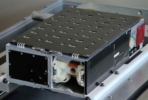 Harris Corporation's HSAT small satellite (Photo: Business Wire)