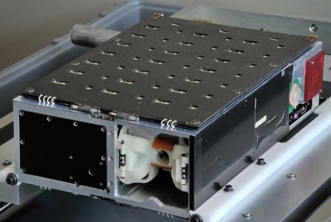 Harris Corporation's HSAT small satellite (Photo: Business Wire)