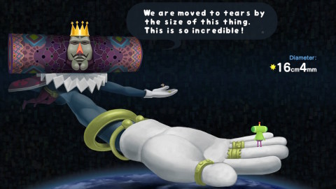 The Katamari Damacy REROLL full game and demo versions will be available on Dec. 7. (Photo: Business Wire)
