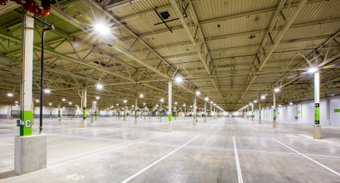 Fast Park opens its first indoor parking facility at Midway International Airport. (Photo: Business  ...